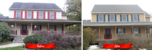 Bachman's project before and after photos