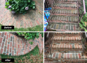 before after walkway